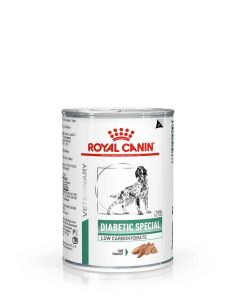 Royal Canin Canine Veterinary Diet Diabetic Special Low Carbohydrate Tin 12 x 410g