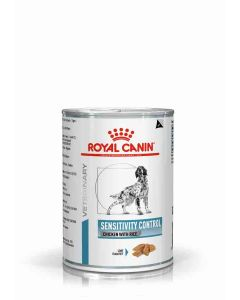 Royal Canin Canine Veterinary Diet Sensitivity Control Chicken Tin 12 x 420g