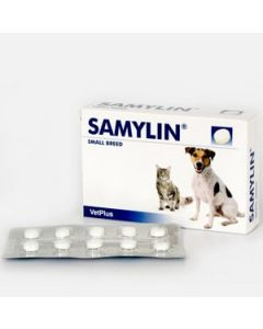 Samylin Tablets for Cats & Small Dogs (pack of 30)