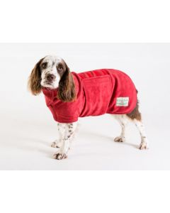 Ruff & Tumble Red Drying Coat - XXXS