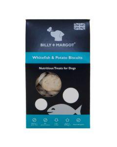 Billy + Margot White Fish & Potato Biscuits 100g