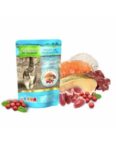 Natures Menu Senior Cat Chicken, Salmon & Cod Pouch 12 x 100g