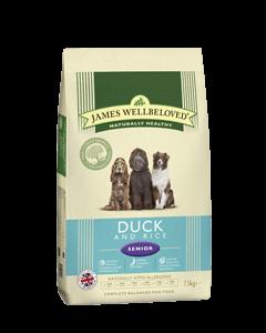 James Wellbeloved Senior Dog Duck & Rice 7.5kg