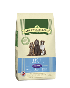 James Wellbeloved Senior Dog Fish & Rice 2kg