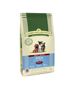 James Wellbeloved Adult Dog Small Breed Fish & Rice 7.5kg