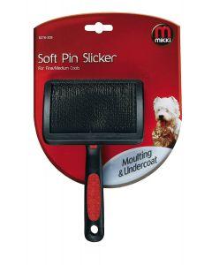Mikki Soft Pin Slicker for Fine/Medium Coats - Medium