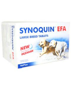 Synoquin EFA Tablets for large dogs (pack of 120)