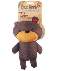 Beco Plush Toby the Teddy Dog Toy - Medium