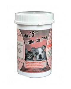 Vit'i5 Little Ca:P=3 Supplement 250g - Dogtor.vet