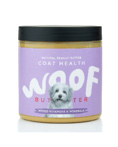 Woof Butter Coat Health - Peanut Butter for Dogs 250g