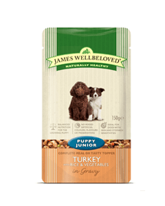 James Wellbeloved Puppy & Junior Lamb with Rice & Vegetable
