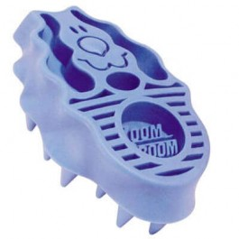 Kong Brosse Zoom Groom bleue pour chien - Dogtor
