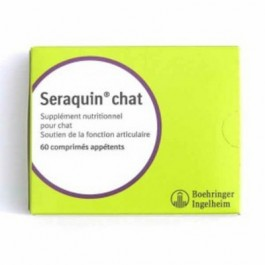 Seraquin Joint Supplement Tablets for Cats & Small Dogs (pack of 60)