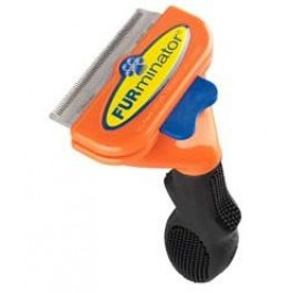 Furminator Dog DeShedding Tool - Short-Haired Medium Breed