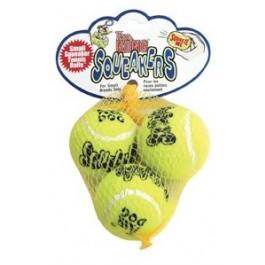 Kong Air Squeaker Tennis Ball Small (par 3) - Dogtor