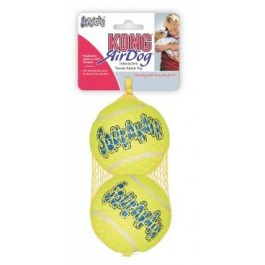Kong Air Squeaker Tennis Ball Large (par 2) - Dogtor