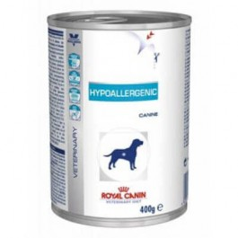 Royal Canin Veterinary Diet Dog Hypoallergenic 12 x 400 grs - Dogtor