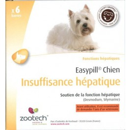 Easypill Liver Support Bars for Dogs 6 x 28g
