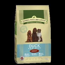 James Wellbeloved Adult Dog Duck & Rice 15kg