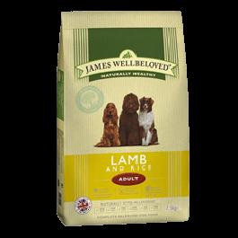 James Wellbeloved Adult Dog Lamb & Rice 2kg