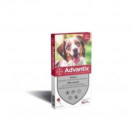 Advantix chien moyen (10 - 25 kg) - 4 pipettes - Dogtor