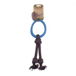 Beco Hoop On Rope - Small (Blue)
