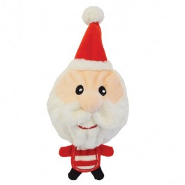 Petface Christmas Santa Hedgehog Dog Toy - Large - Dogtor