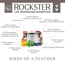 Rockster Birds of a Feather Pouch 195g - Dogtor