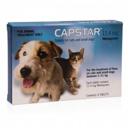 Capstar Tablets Cats and Small Dogs 1-11kg