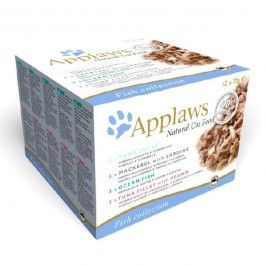 Applaws Adult Cat Fish Selection Tin 12 x 70g