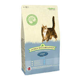 James Wellbeloved Adult Cat Light Fish & Rice 1.5kg