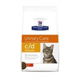 Hill's Prescription Diet Feline C/D Multicare au poulet 10 kg - Dogtor