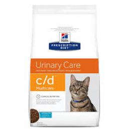 Hill's Prescription Diet Feline C/D Multicare au poisson 5 kg - Dogtor