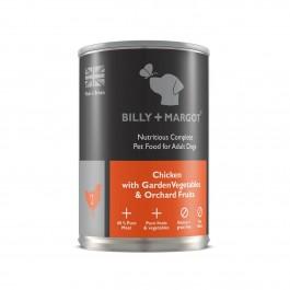 Billy + Margot Complete Chicken Tin 395g - Dogtor