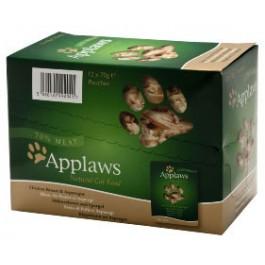 APPLAWS Cat Chicken & Asparagus Wet 12 x 70g - Dogtor