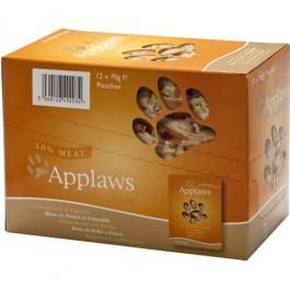 Applaws Adult Cat Chicken & Pumpkin Pouch 12 x 70g