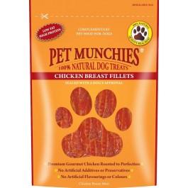 Pet Munchies Chicken Breast Fillet Dog Treats 100g - Dogtor