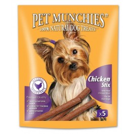 Pet Munchies Chicken Stix Dog Treats 50g - Dogtor