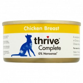 Thrive 100% Chicken Complete Cat Wet Food 12 x 75g - Dogtor
