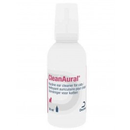 CleanAural Ear Cleaner for Cats 50ml