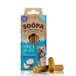 Soopa Cranberry & Sweet Potato Dental Sticks 100g - Dogtor