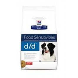 Hill's Prescription Diet Canine D/D Saumon et Riz 12 kg - Dogtor
