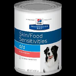 Hill's Prescription Diet d/d Canine Salmon Wet