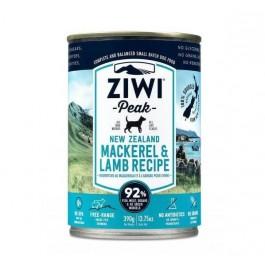 Ziwi Peak Canine Mackerel & Lamb Tin 390g - Dogtor