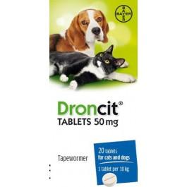 Droncit Tablets - Dogtor.vet