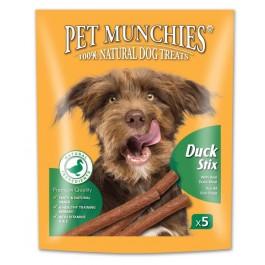 Pet Munchies Duck Stix Dog Treats 50g - Dogtor