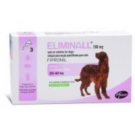 Eliminall Chien 20-40kg 3 pipettes (générique Frontline) - Dogtor
