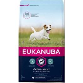 Eukanuba Chien Active Adult Petite Race au poulet 3 kg - Dogtor