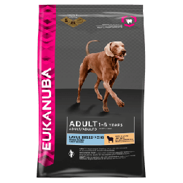 Eukanuba Adult Dog Large Breed Rich in Lamb and Rice 2.5kg