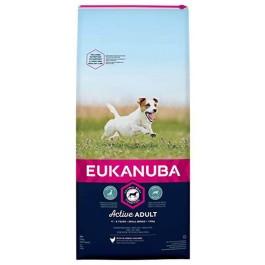 Eukanuba Chien Active Adult Petite Race au poulet 15 kg - Dogtor